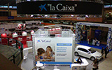 "Estands ""la Caixa"""